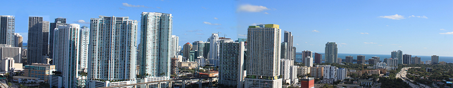 brickell panoramic view